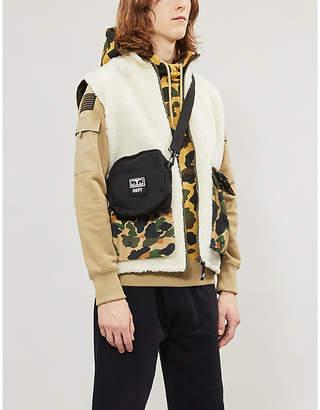 599dfaa0 A Bathing Ape Contrast-panel camouflage cotton-jersey hoody