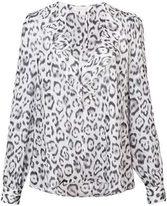 Rachel Zoe leopard print blouse