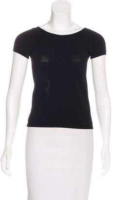 Chanel Knit Camellia Top