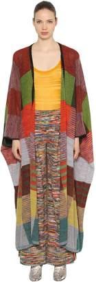 Missoni Oversized Mohair & Alpaca Knit Cardigan