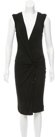 GucciGucci Knot-Accented Midi Dress