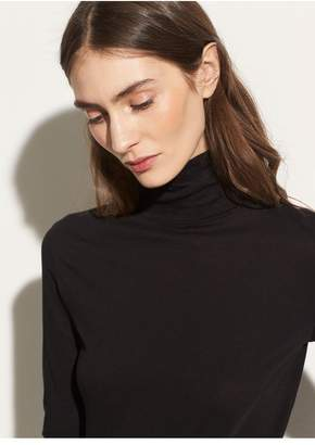 Vince Pima Cotton Turtleneck