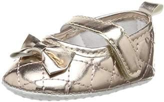Pumpkin Patch Baby Girls' Bow Ballerina Ballet Flats,5 Child UK 21/22 EU