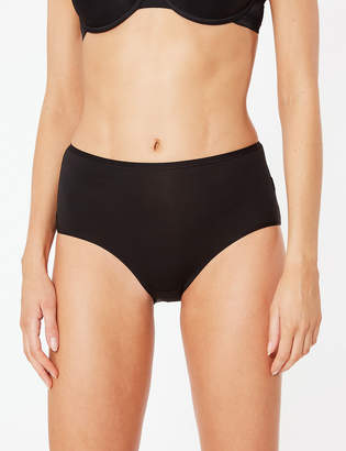 VPL M&S CollectionMarks and Spencer 5 Pack No Microfibre High Rise Midi Knickers