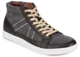 Ben Sherman Lace-Up High-Top Sneakers