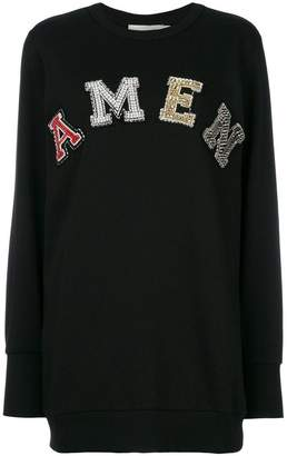 Amen logo jumper