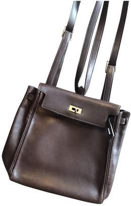 Hermes Kellyado Leather Backpack
