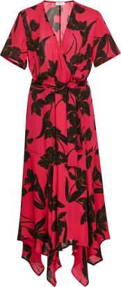 A.L.C. Cora Wrap Silk Dress