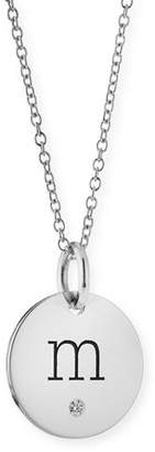 Chicco Zoe Personalized Name Disc Pendant Necklace with Diamond