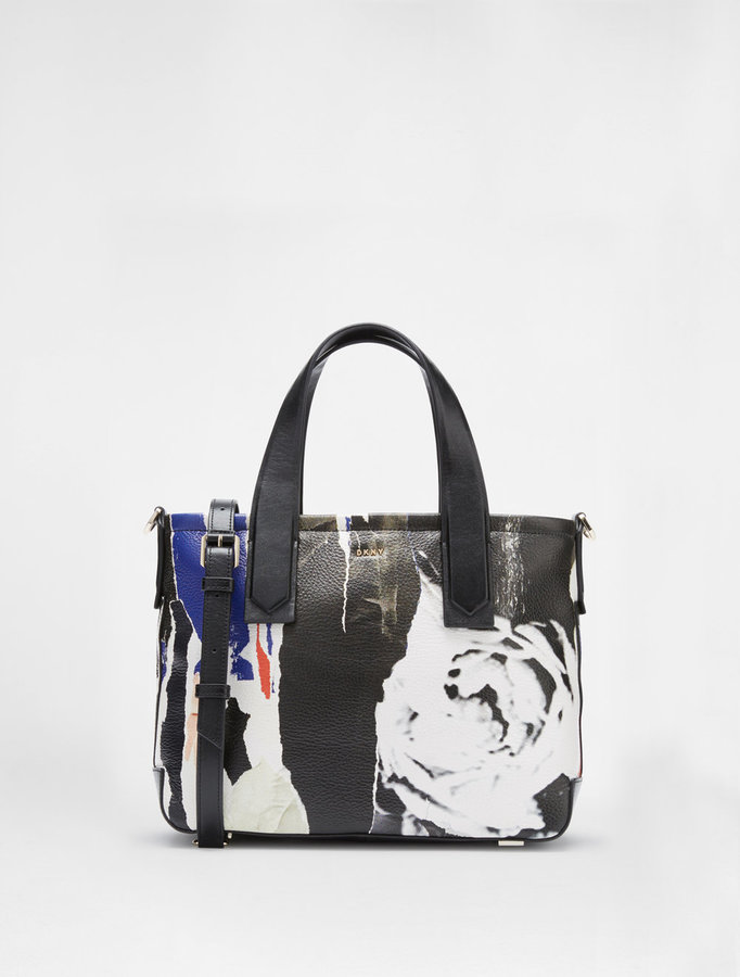 DKNYRipped Rose Tote