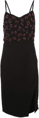 Altuzarra bead embroidered mini dress