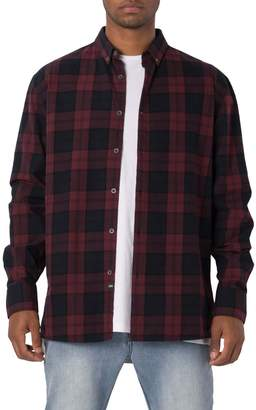 Zanerobe Oversize Plaid Flannel Shirt