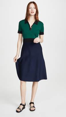 Tory Burch Colorblock Sweater Dress