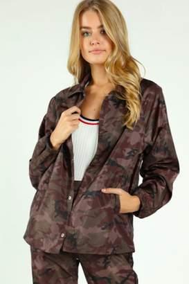 Timeless Camo Windbreaker Jacket