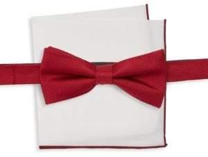 Burma Bibas Two Piece Silk Bow Tie & Square Set