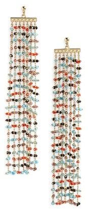 Women's Elizabeth And James Rosa Emmy Statement Earrings $135 thestylecure.com