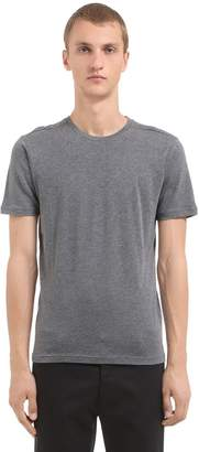 Fine Cotton Cashmere Blend T-Shirt