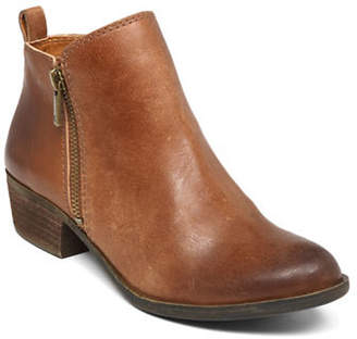 Lucky Brand Basel Leather Booties