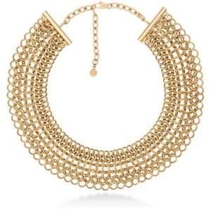 Michael Kors (マイケル コース) - Michael Kors Chainmail Collar Necklace