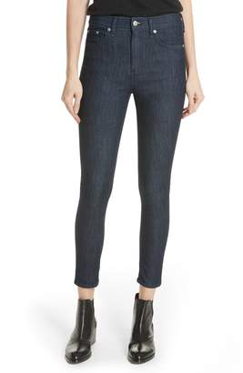 Rag & Bone High Waist Skinny Jeans