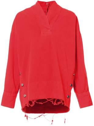 Rachel Comey denim oversized blouse