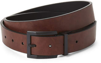 GUESS Tan & Black Reversible Belt