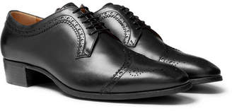Gucci Leather Brogues - Men - Black