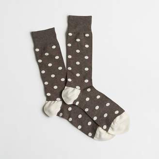 J.Crew Multidot socks