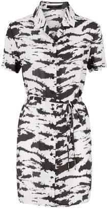 AllSaints Amia Eiger Print Dress