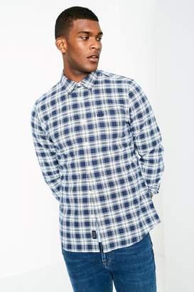 Jack Wills Salcombe Cotton Plaid Shirt