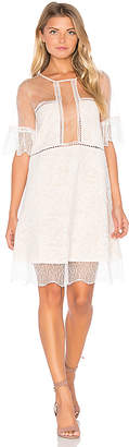 KENDALL + KYLIE Panel Lace Babydoll Dress