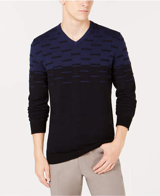 Alfani Men's Colorblocked Dash Sweater, Created for Macy's