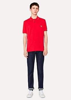 Paul Smith Men's Slim-Standard 12.5oz 'Rigid Western Twill' Denim Jeans