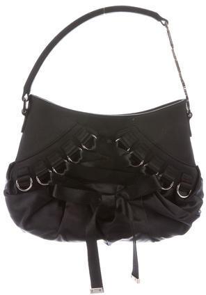 Christian Dior Christian Dior Satin Ballet Handle Bag