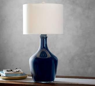 Pottery Barn Mattox Glass Table Lamp