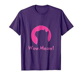 Wow Meow! Cat Shirt