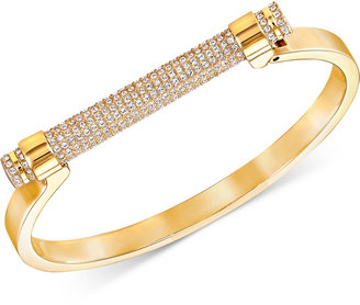 Swarovski Friend Pavé Crystal Bar Bangle Bracelet $129 thestylecure.com