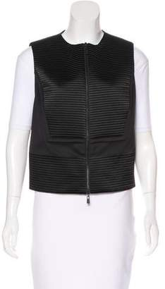 Robert Rodriguez Ribbed Zip-Up Vest w/ Tags