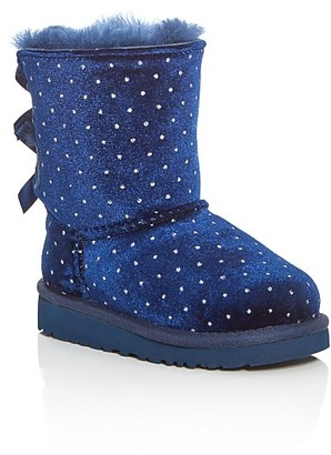 UGG® Girls' Bailey Bow Starlight Boots - Walker $120 thestylecure.com
