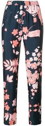 Closed sakura trousers