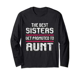 Cool Sister Promoted to Aunt Women Gift 573 Long Sleeve T-Shirt