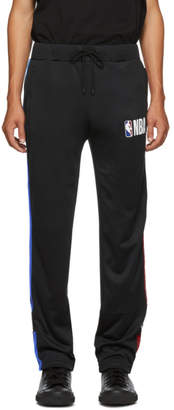 Marcelo Burlon County of Milan Black NBA Edition Track Pants