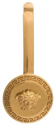 Versace gold Medusa hair clip
