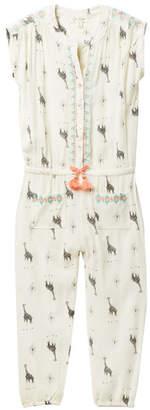 Jessica Simpson Crepe Jumpsuit (Toddler Girls)