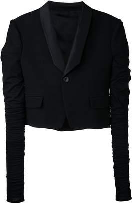 Rick Owens micro tux jacket