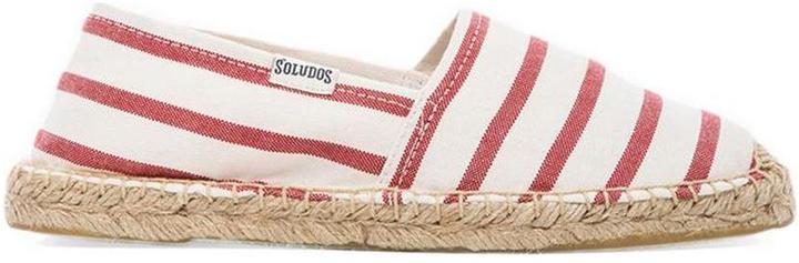 Soludos Classic Stripe Flat