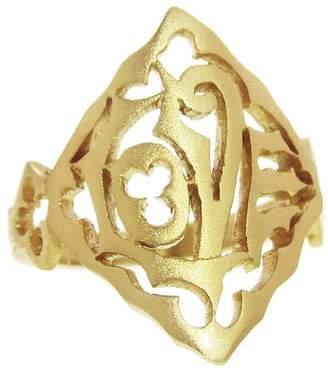 Cathy Waterman Love Ring - 22 Karat Gold