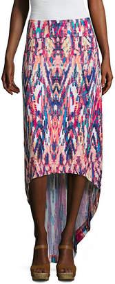 A.N.A Womens Mid Rise Maxi Skirt - Petite