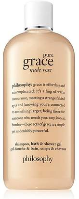 Philosophy pure grace nude rose shampoo, bath & shower gel