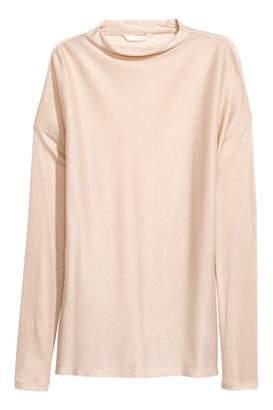 H&M Lyocell Top - Light beige - Women